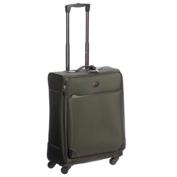 Brics Pronto Olive 25-inch Spinner Upright Suitcase