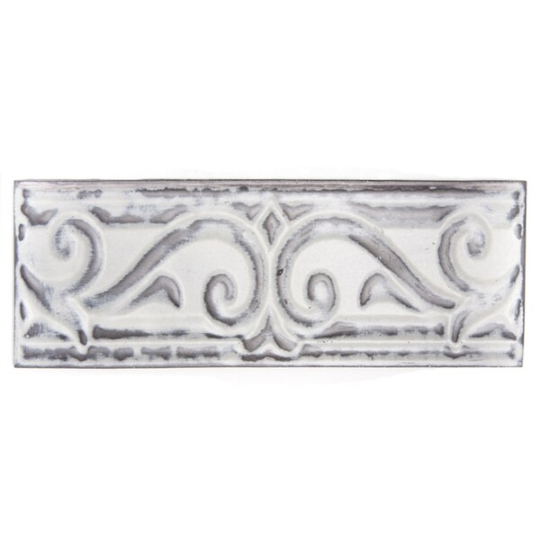 Metallicos Egyptian Memphis Vintage 3-inch x 9.5-inch Decorative Tiles (Set of 3)