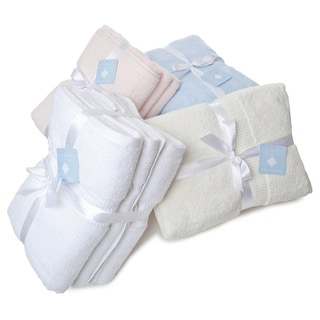 Eileen West Solid Color  6-piece Towel Set