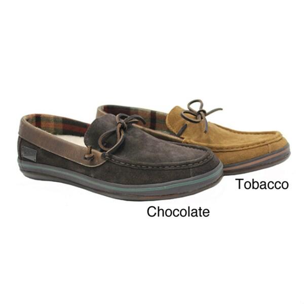 Woolrich Men's 'Weston' Suede Moccasin Slippers