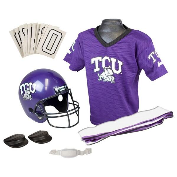Franklin NCAA Small TCU Deluxe Uniform Set