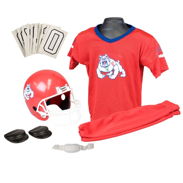 Franklin NCAA Small Fresno State Deluxe Uniform Set