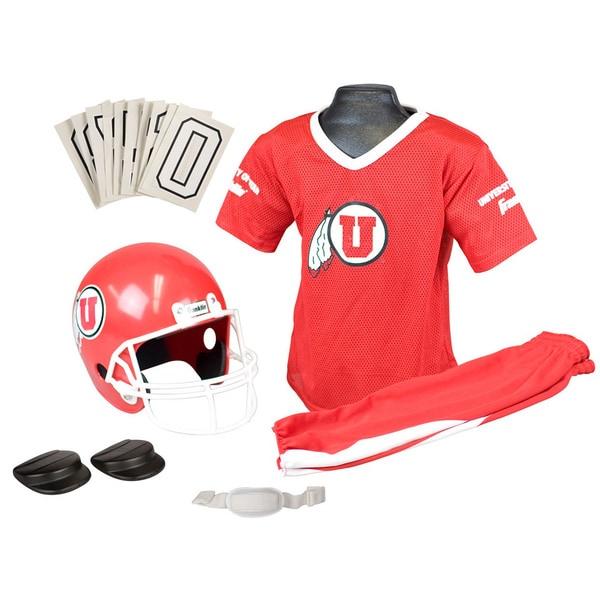 Franklin NCAA Medium University of Utah Deluxe Uniform Set