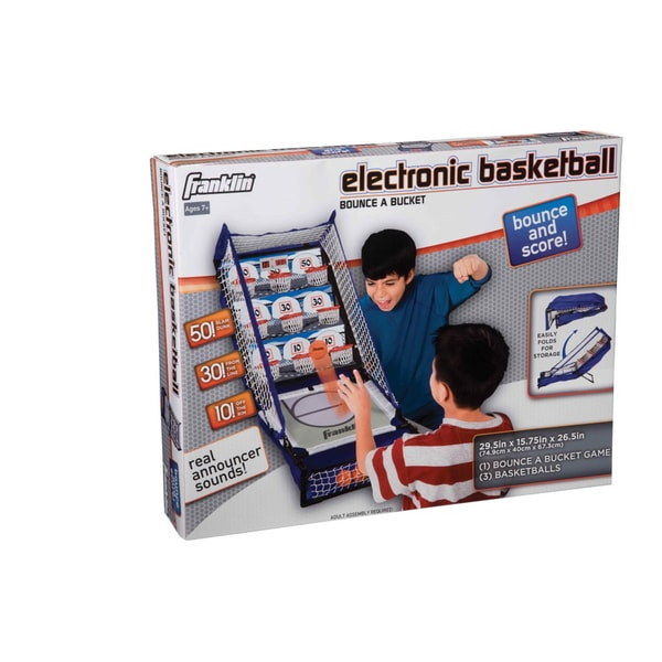 Franklin Electronic Basketball Bounce A Bucket