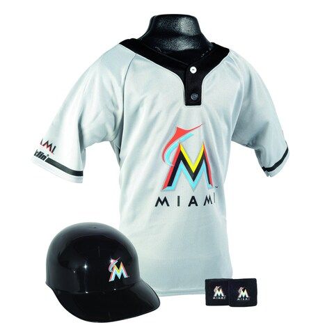 MLB Marlins Uniform Set