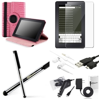 BasAcc Case/ Charger/ Cable/ Headset/ Protector for Amazon Kindle Fire