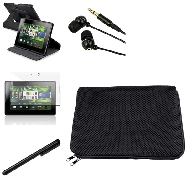 BasAcc Swivel Case/ Sleeve/ Protector/ Headset for BlackBerry Playbook