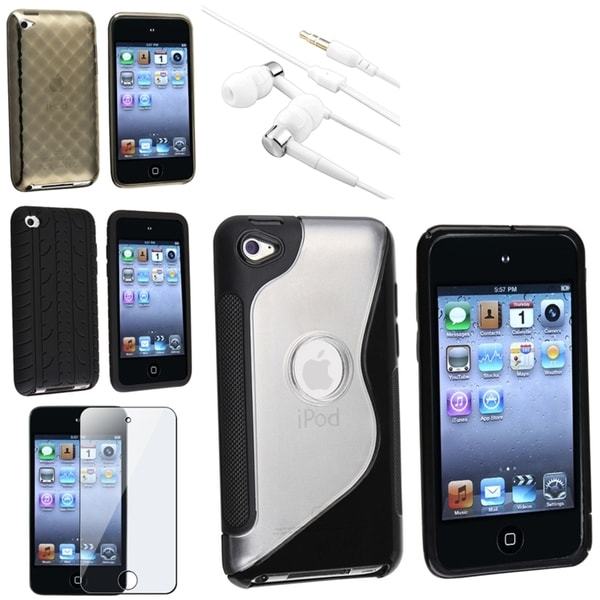 BasAcc Case/ Headset/ Protector for Apple iPod Touch 4th Generation