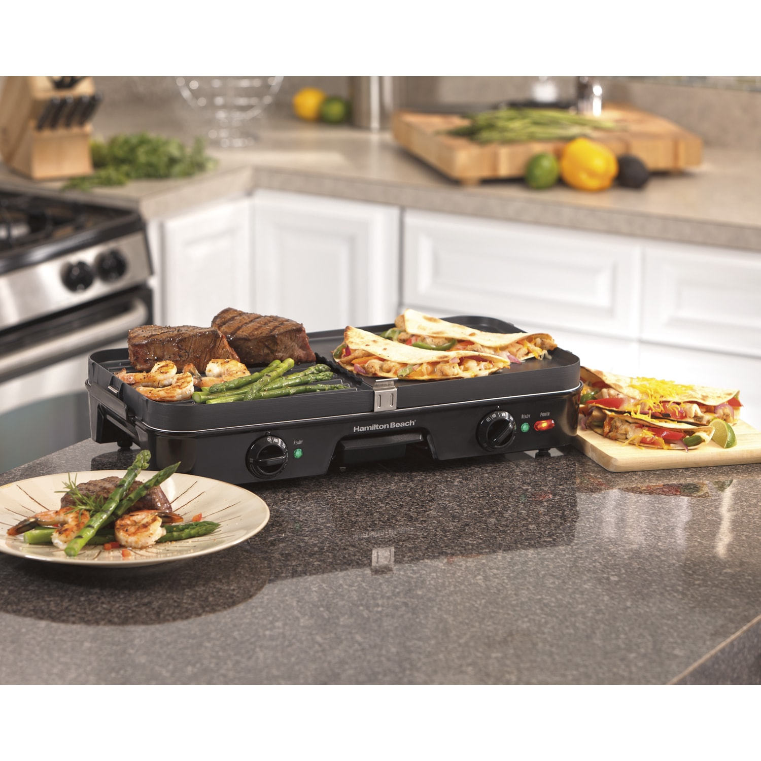 Hamilton Beach 3-in-1 Grill/ Griddle (3-in-1 Grill/ Gridd...