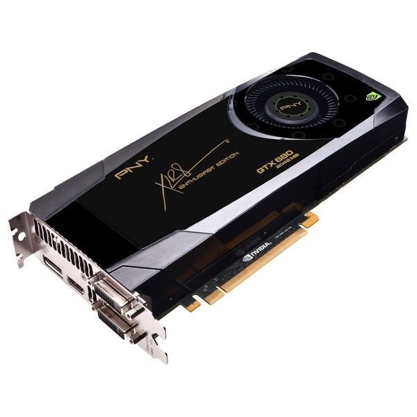 PNY GeForce GTX 680 Graphic Card - 1.01 GHz Core - 4 GB GDDR5 - PCI E