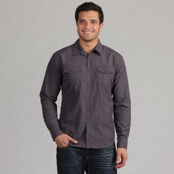 191 Unlimited Men's Charcoal Shirt