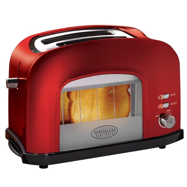 Nostalgia Electrics Red Retro Series Window Toaster