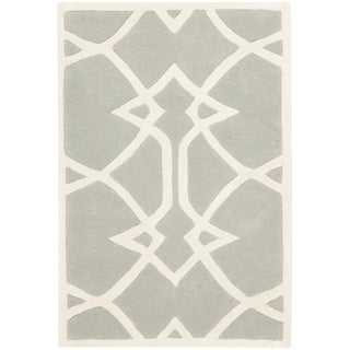 Safavieh Handmade Marrakesh Grey New Zealand Wool Rug (2' x 3')