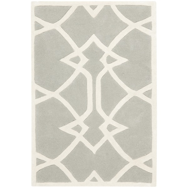 Safavieh Handmade Marrakesh Grey New Zealand Wool Rug (3' x 5')