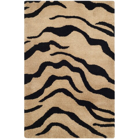 Safavieh Handmade New Zealand Wool Terra Brown Rug - 2' x 3'