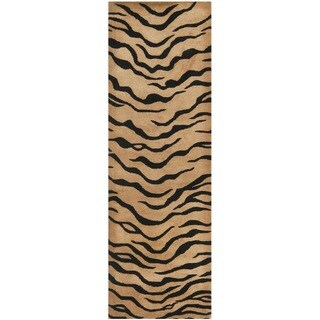 Safavieh Handmade New Zealand Wool Terra Brown Rug (2'6 x 8')