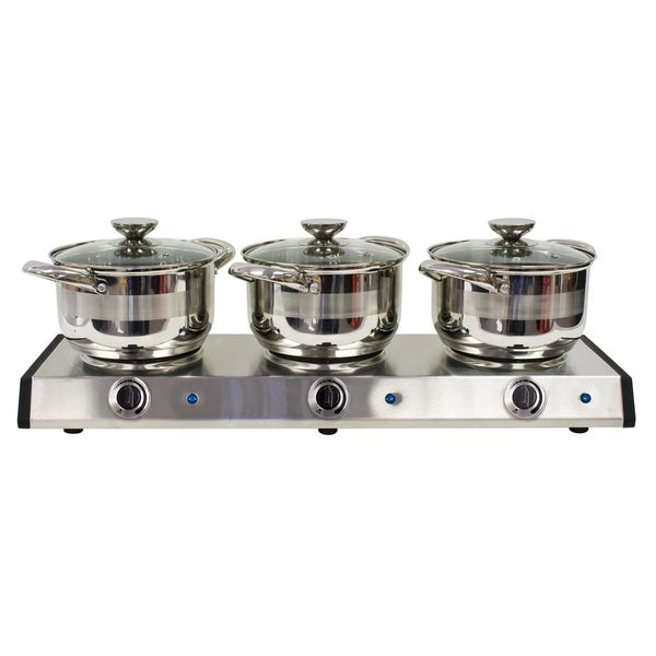 Nostalgia Electrics 2.5-Quart Slow Cooker Trio