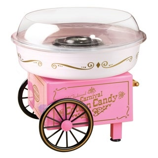 Nostalgia PCM305 Vintage Hard & Sugar-Free Candy Cotton Candy Maker