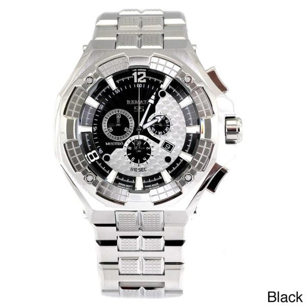 "Renato Men's 55MM Stainless Steel 'Mega Mostro"" Bracelet Watch"