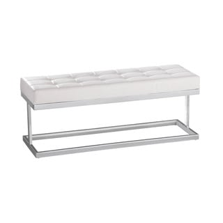 Sunpan 'Ikon' White Viceroy Bench