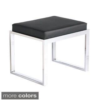 Sunpan 'Ikon' Black/ White Oliver Stool (2 options available)
