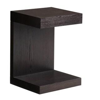 Sunpan 'Ikon' Bachelor Espresso TV Table with Drawer