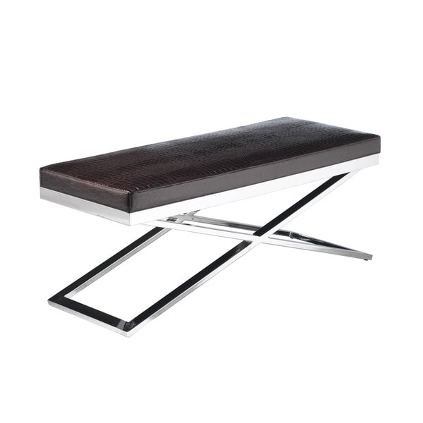 Sunpan 'Ikon' Crawford X-Base Bench