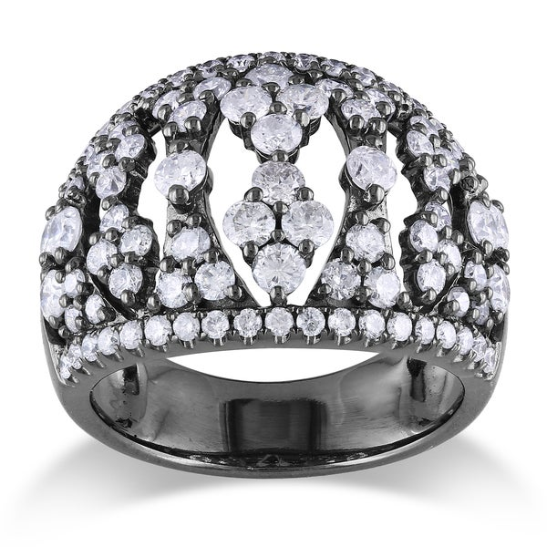 Miadora 14k White Gold 2ct TDW Diamond Ring (G-H, SI1-SI2)