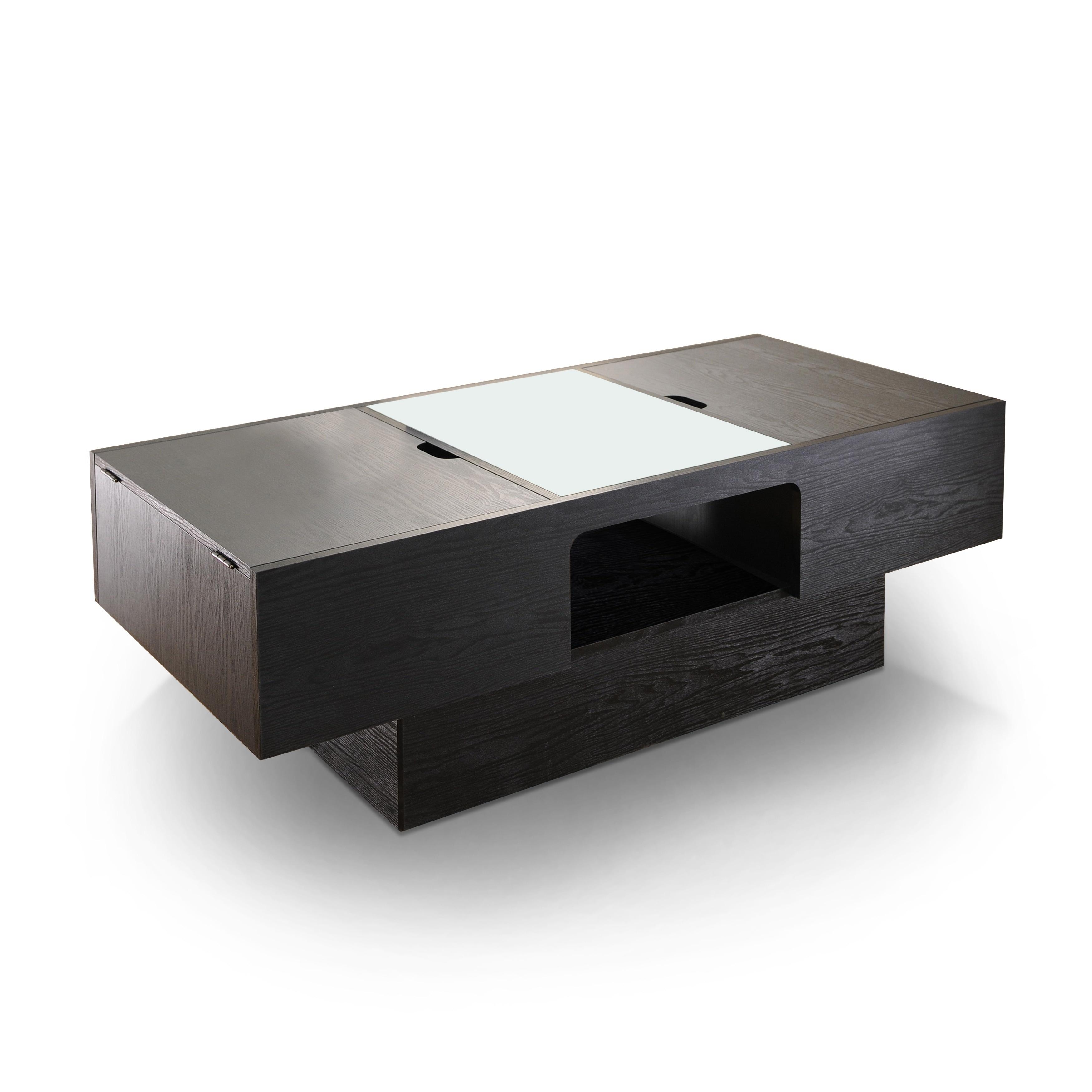 Black Storage Coffee Table Best Home Design 2018