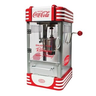 Nostalgia Electrics Coca-Cola Series Kettle Popcorn Maker
