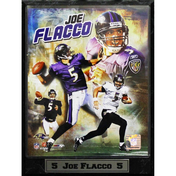 Baltimore Ravens Joe Flacco Photo Plaque (9 x 12)