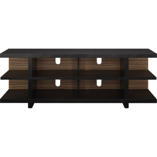 Altra 60-inch Espresso Contemporary TV Stand with Reversible Back Panel