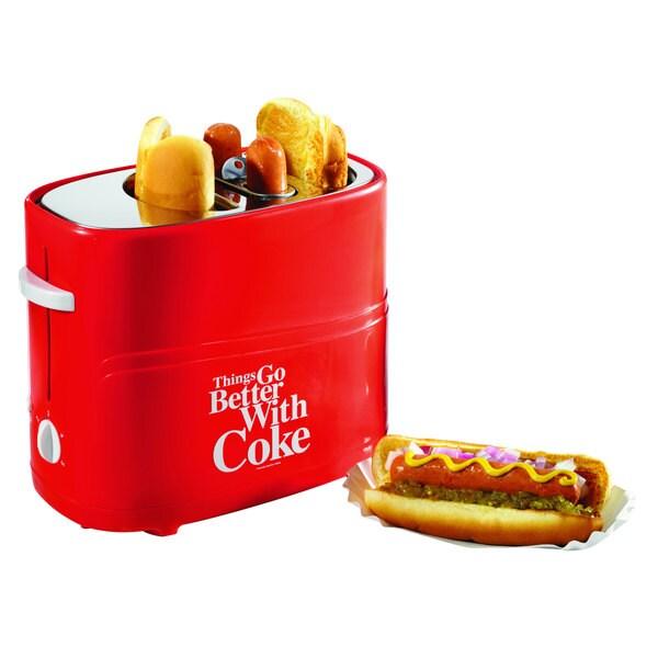 Nostalgia Electrics Coca-Cola Series Pop-Up Hot Dog Toaster