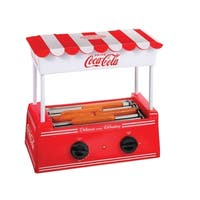 Nostalgia HDR565COKE Coca-Cola® Hot Dog Roller and Bun Warmer