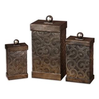 Uttermost Nera Boxes (Set of 3)