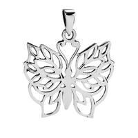 Handmade Pretty Wild Butterfly Detailed .925 Silver Pendants (Thailand)