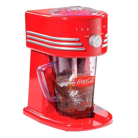 Nostalgia FBS400COKE Coca-Cola®40-Ounce Frozen Beverage Station