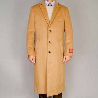 Link to Camel Wool/Cashmere Blend Topcoat Similar Items in Men's Outerwear