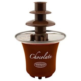 Nostalgia CFF300 3-tier 0.5 lb. Capacity Chocolate Fondue Fountain