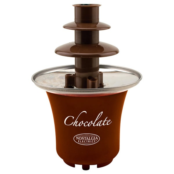 Nostalgia CFF300 3-tier 0.5 lb. Capacity Chocolate Fondue Fountain