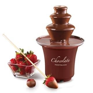 Nostalgia CFF300 3-tier 0.5 lb. Capacity Chocolate Fondue Fountain|https://ak1.ostkcdn.com/images/products/7348216/P14811937.jpg?impolicy=medium