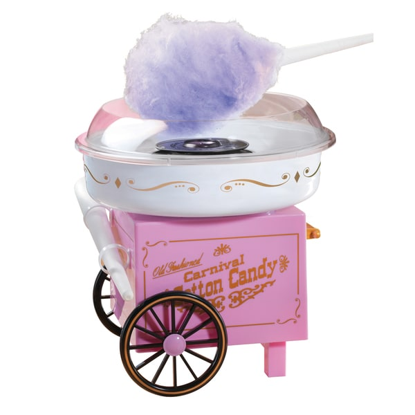 Nostalgia Electrics Vintage Collection Old Fashioned Carnival Cotton Candy Maker