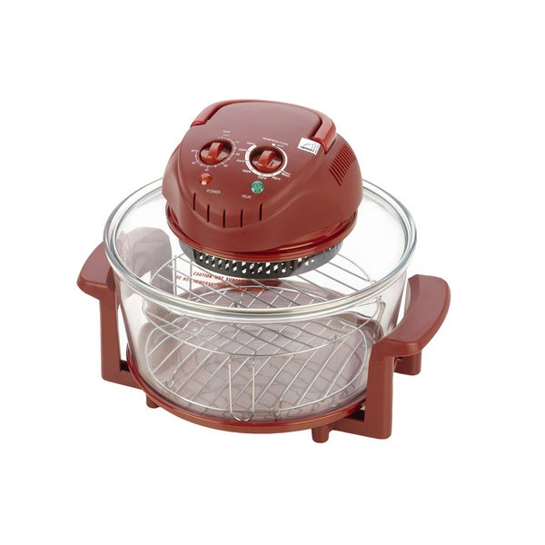 Fagor Halogen Tabletop Oven in Red