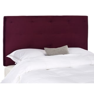 Safavieh Martin Bordeaux Cotton Upholstered Tufted Headboard