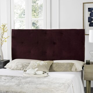 Safavieh Martin Bordeaux Cotton Upholstered Tufted Headboard (2 options available)