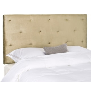 Safavieh Martin Antique Sage Upholstered Tufted Headboard