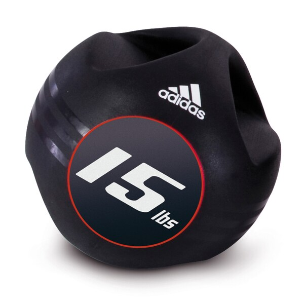 Adidas 15-pound Medicine Ball with Handles