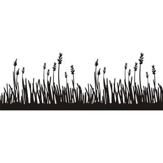 Design on Style 'Grass Border' Vinyl Art Quote