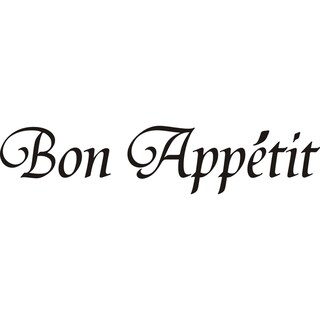 Design on Style 'Bon Appetit' Vinyl Art Quote