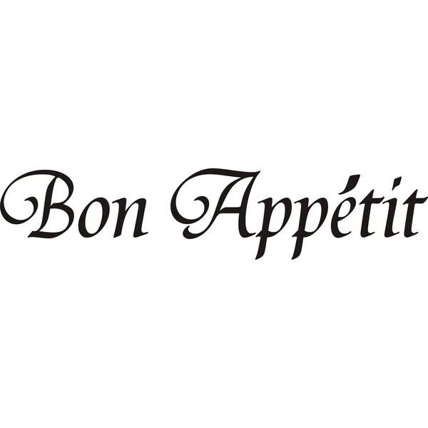 Design on Style 'Bon Appetit' Vinyl Art Quote
